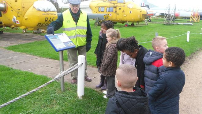 Learning all about the old war aircrafts