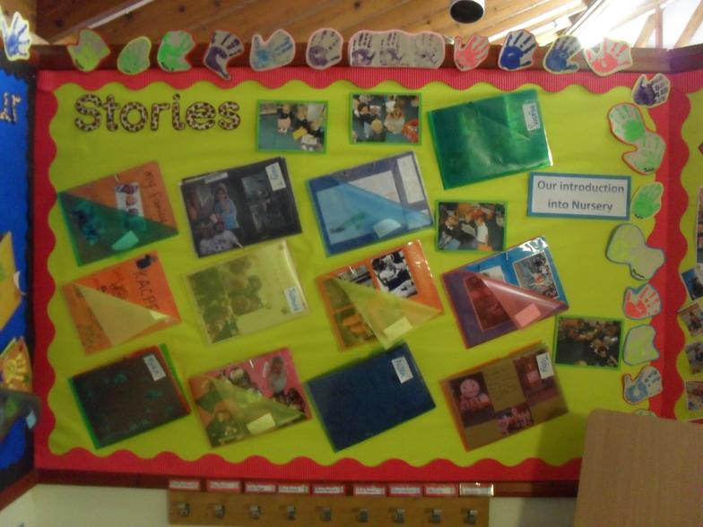 Stories about ourselves in Nursery