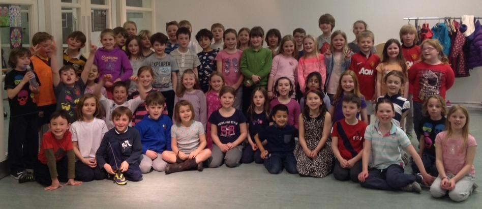 Y3 Sleepover for Brentwood's hydrotherapy pool