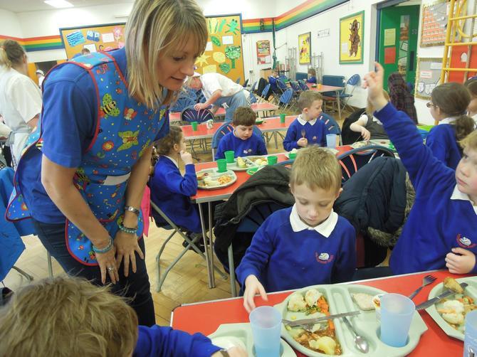 Mrs Wright, Lunchtime Supervisor