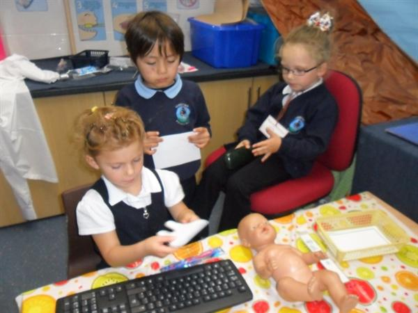 Role play -at the dentis