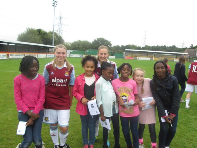Meeting two players from Dagenham