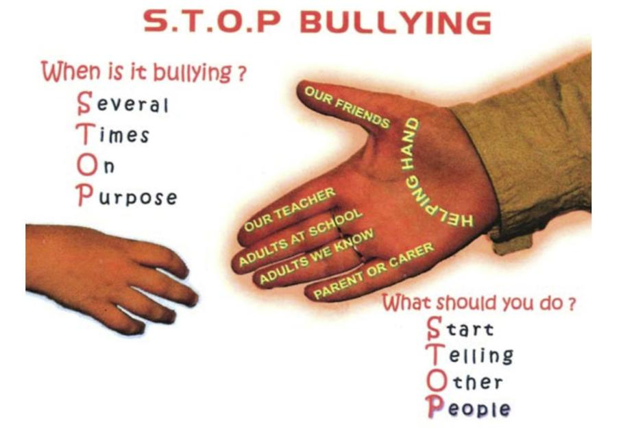 Bullying poster project bagthorpe primary school