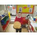 We had lots of fun flipping pancakes.