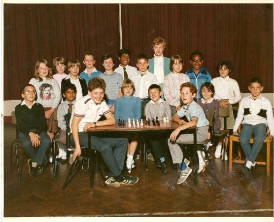Chess club from the 1980s
