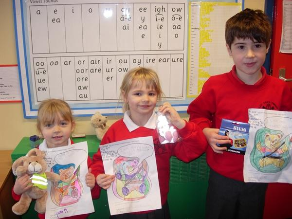 Our road safety competition winners