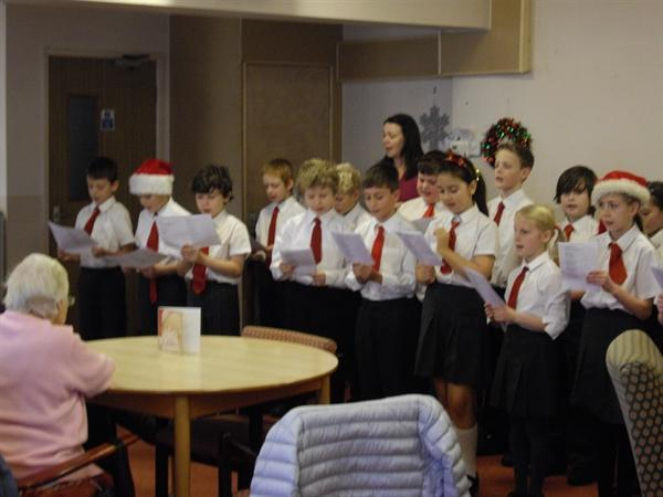 Singing at Phoenix Court