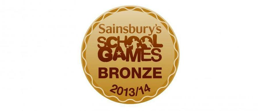 Bronze Award 2013/14 awarded to Kidgate.