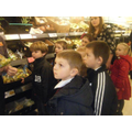 Fair Trade Steering Group visit Sainsburys