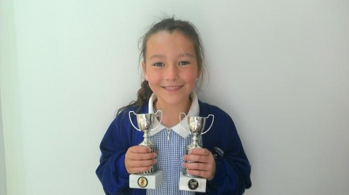 Evelyn - 1st and 2nd place in Dancing Competition!