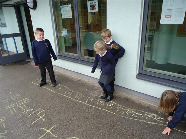 Using own our number lines to add and subtract