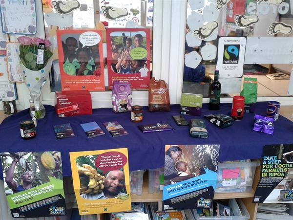 The Sainsbury's Fair Trade Stall