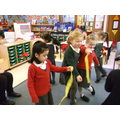 Dancing to Mrs Beesley's Jazz!