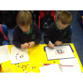 """Exploring fractions with """"pepperoni pizza"""""""