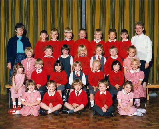 Class Photo from the early 90's