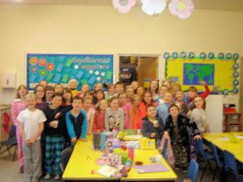 Year 4 supporting Children In Need.