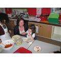 Cooking Club demonstrate the fajita recipe