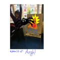 A monster Argh!