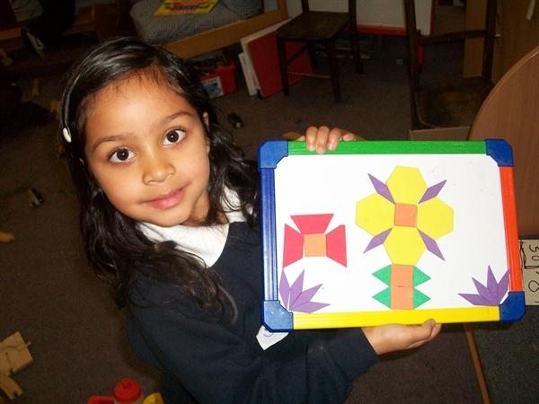 Making a picture using shapes