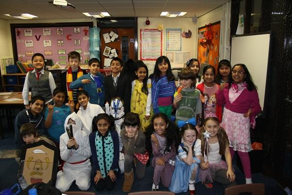 World Book Day - Dressing as book characters World