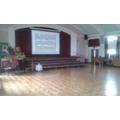 School Hall and Stage