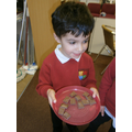 We looked at changes when melting chocolate