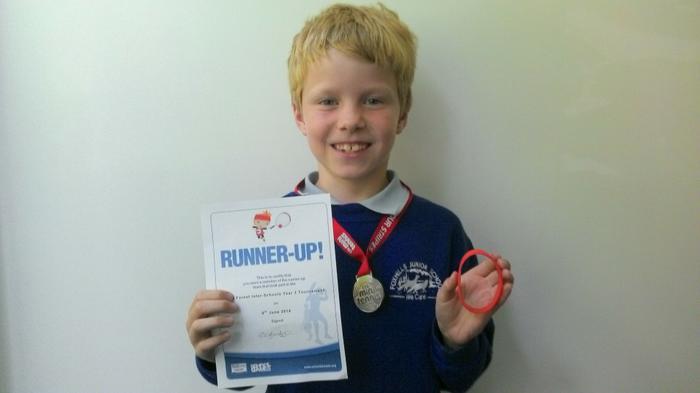 Joe - Runner up in Tennis tournament
