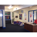 This is the main reception area in school