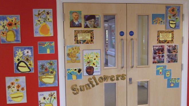 Doors to the main corridor