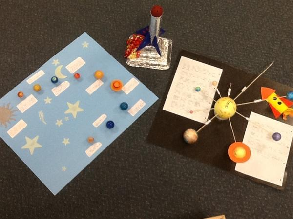 Fantastic homework on space