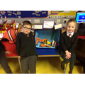Mia and Jack look after the tropical fish.