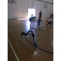 Running fast!