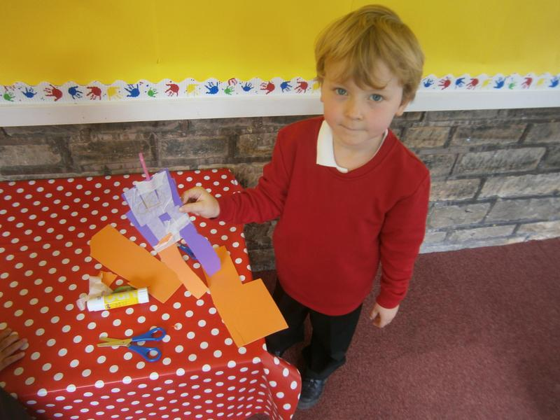 Expressive Arts and Design - making a monster