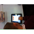 Using iPads to help with learning.