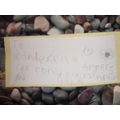 Gorgeous letters to Cinderella
