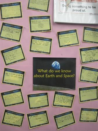 Sharing our knowledge of Space
