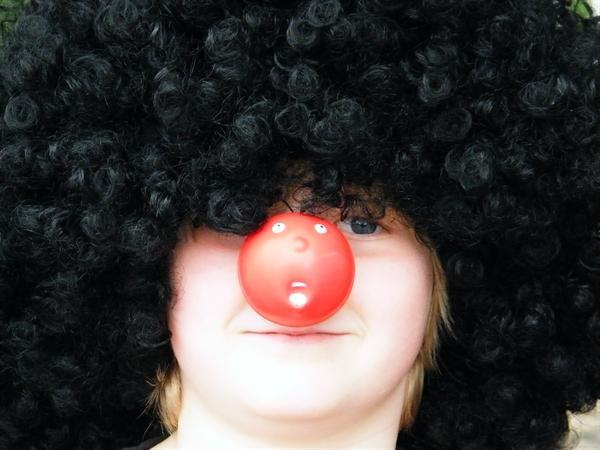Red Nose Day (The world's most pointless caption?)