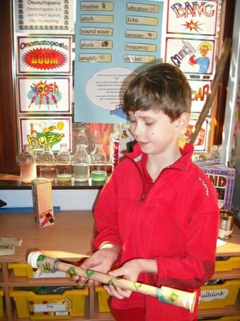 Adam  played lots of tunes on his wind instrument.