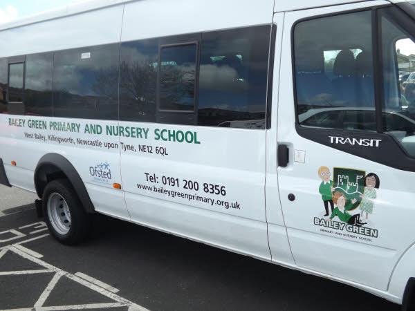 Bailey Green's new minibus!