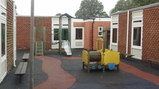 Middle area and Foundation play equipment