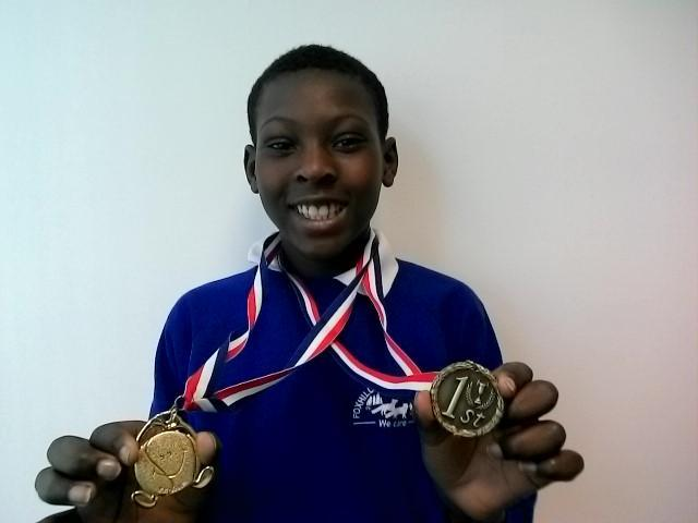 Christopher - 1st + 2nd in Tennis Competitions!