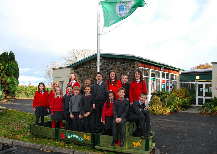 Year 7 Pupils aboard the new Garden Train
