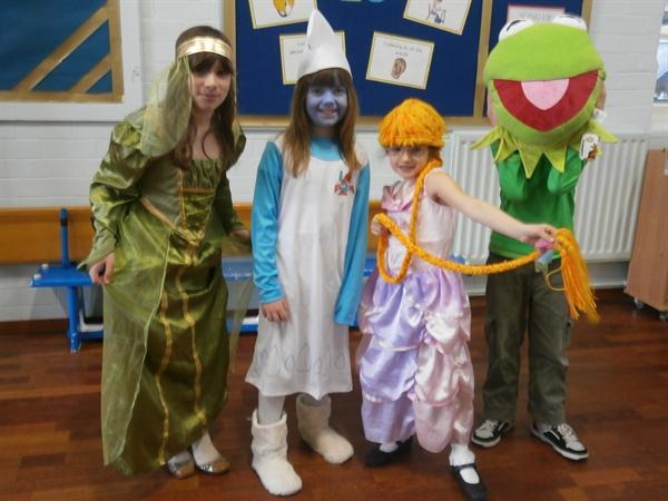 Fairytales go to school!!!