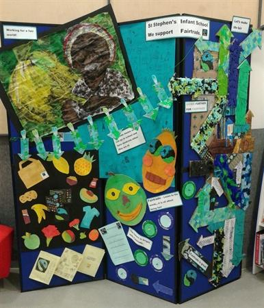Fairtrade Display at the Beaney
