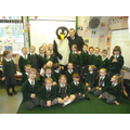Smartie visited all the classes.
