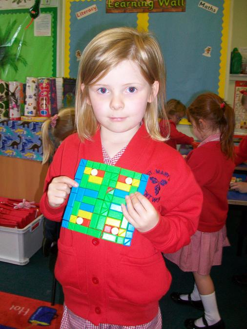 Such a beautiful, symmetrical pattern- fantastic!