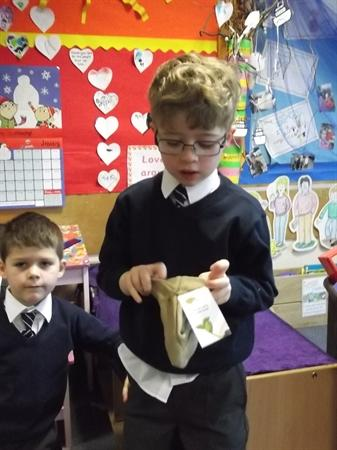 We enjoy sharing during show and tell