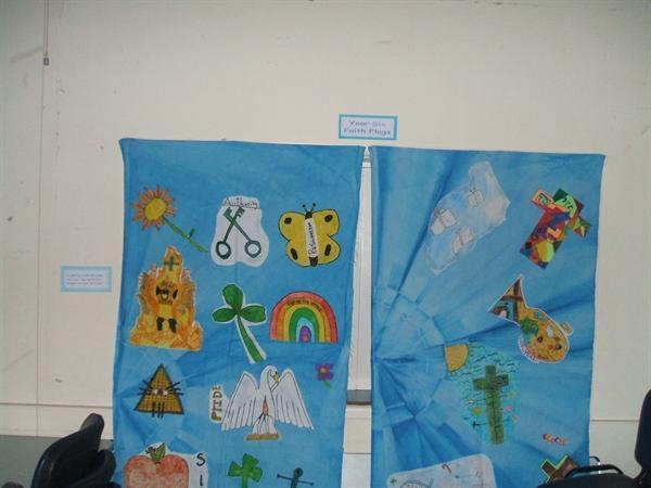 Year 6 Faith Flags