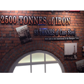 "2500 tonnes of iron! ""That's a bit heavy!"""