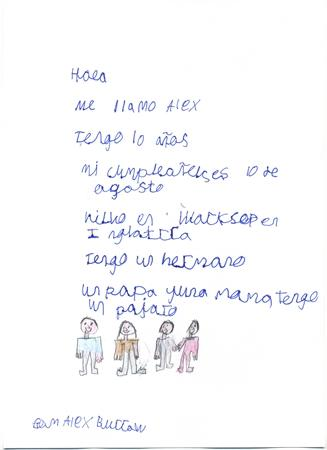 Letter to a Spanish School